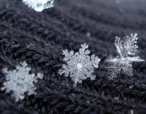 بلورهای برف