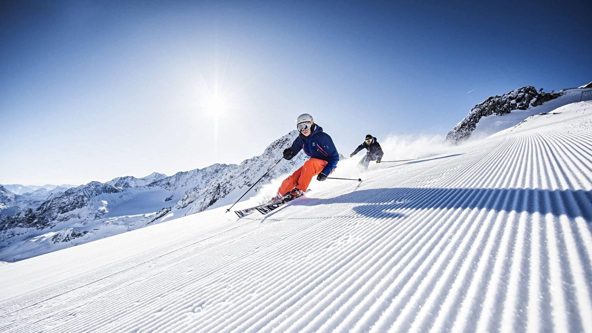 ضروری برای پیست های اسکی