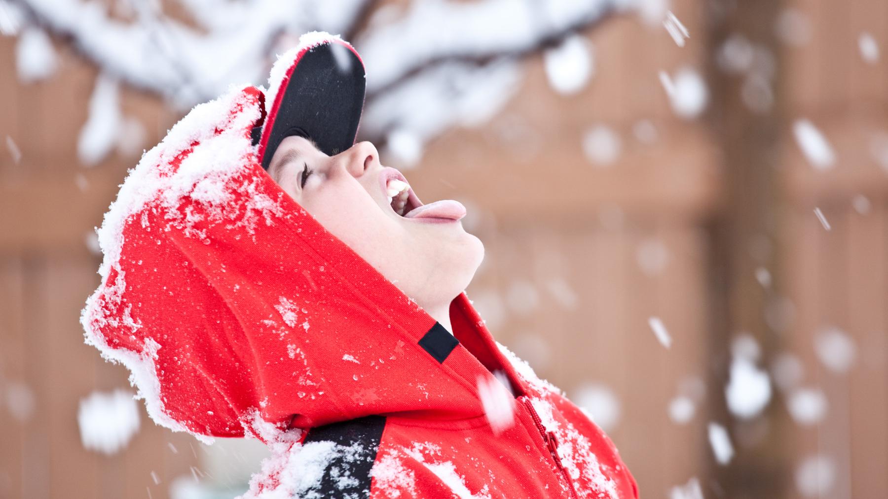برف مصنوعی قابل مصرف خوراکی